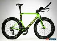 CANNONDALE Slice Carbon Ceramic Speed Triathlon TT Bike / Andy Potts IRONMAN HI for Sale