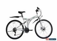 "Ecosmo 26"" Wheels Folding Mountain MTB Bicycle Bike 21SP, 18.5""-26SF02W for Sale"