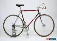 De-Rosa Built Vintage Steel F Moser Cromovelato Bike 54cm Campagnolo Record  for Sale