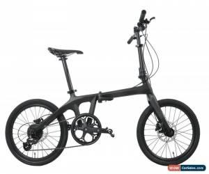 """Classic Folding Bike Carbon Frame Fork Seatpost Wheelset Handlebar Disc brake 20"""" for Sale"""