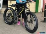 Mammoth FAT TYRE ELECTRIC BIKE ADULT 36v10ah TRIP COMPUTER With Twist & Go UK S for Sale