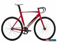 2017 Specialized Langster Pro Track Bike 56cm Aluminum Fixed Omnium Urban for Sale