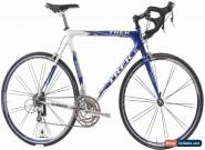 USED 2003 Trek 5200 58cm Carbon Road Bike Shimano Ultegra Triple 3x9 Speed for Sale