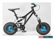 MAFIABIKES Mini Rig FULL SUSPENSION MINI BIKE Black - Teal Wheels for Sale