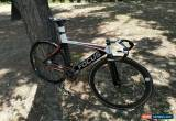 Classic Focus PISTA AVANTI Track Bike, MINT, Full carbon, 55cm TT, 9cm HT,  EXCELLENT!!! for Sale