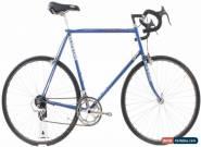 USED Vintage Schwinn Tempo 61cm Lugged Steel Road Bike Blue 2x6 Speed Shimano for Sale
