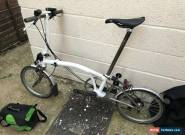 Brompton S2L-X Folding Bike 8.9 Kg With Upgrades for Sale