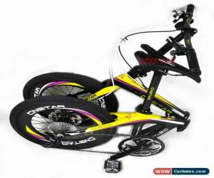 "Classic 20"" Full Carbon Folding Bike Shimano Disc Frame Crankset Fork wheels Clincher for Sale"
