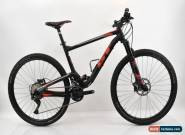 "GT 2017 Carbon Helion Expert 9R 29"" Full Suspension MTB Black/Red Large for Sale"