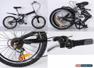 FOLDABLE BICYCLE 20 INCH SUSPENSION - NEW DESIGN - QUALITY PRODUCT for Sale