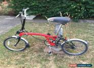 Brompton M3L Folding Bicycle for Sale