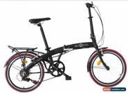 """Ecosmo 20"""" Wheel Lightweight Alloy Folding Bicycle Bike 7 SP, 12kg - 20AF09BL for Sale"""