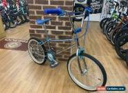 Mongoose Californian Old School BMX Bike circa 1984 Chrome/Blue for Sale