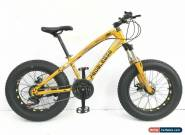 PedalEase Big Cat Fat Bike MTB Snow Beach front suspension disc brake 21 speed for Sale