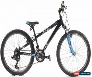 "Classic USED 2010 Trek MT 220 24"" Kids Mountain Bike 3x7 Speed Grip Shift Black Blue for Sale"