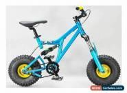MAFIABIKES Mini Rig FULL SUSPENSION MINI BIKE Teal - Gold Wheels for Sale