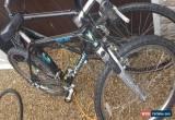 "Classic Kawasaki KMB450 18"" black Tange rare mountain bike cycle all works fully  for Sale"