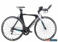 2017 Cervelo P3 Time Trial Bike 48cm Carbon Shimano Ultegra Di2 3T Mavic for Sale