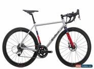 2016 Salsa Colossal Disc Road Bike 55cm Medium Steel SRAM Red 22 Hydro 11s Zipp for Sale