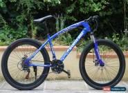 """RAMTIN BIKE 26"""" BLUE 40MM RIM Bicycle Mountain Cruiser 21S not fat folding for Sale"""