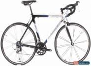 USED 2005 Trek 5000 56cm Carbon Road Bike 2x9 Speed Shimano Sora Grey for Sale