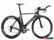 2011 Felt B16 Time Trial Bike 52cm Carbon Shimano DA Ultegra ENVE Edge CycleOps for Sale