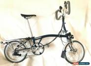Brompton P6R X Titanium 6 Speed Folding Bike + SON Dynamo + Rack + NEW for Sale