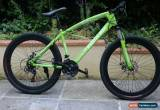 "Classic RAMTIN BIKE 26"" green 40MM RIM Bicycle Mountain Cruiser 21S not fat folding for Sale"