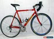 Cannondale Saeco Race Road Bike L 58cm 700c Ultegra Brifters Made in USA Cahrity for Sale