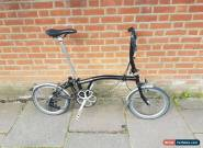 Brompton  S6l Folding Bike Shipping Worldwide Model 2016 for Sale