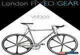 "Classic London FIXED GEAR ""Veloce 6Spokes"" Aluminium Fixie for Sale"