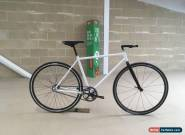 Fixed gear bike White (Fixie) Mint Condition 51cm frame for Sale