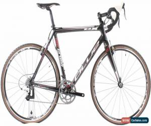 Classic USED 2011 Blue Norcross EX ML 56cm Carbon Cyclocross Bike SRAM Apex 2x10 Sp. for Sale