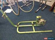 Vintage Olmo Steel Framed Turbo Trainer Factory made *RARE* for Sale