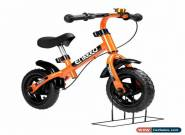 Balance Bike with Bell and Hand Brake for 2-5 Year Old Kids(Orange) for Sale