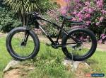 Mammoth FAT TYRE Mountain BIKE BLACK With Gears 7 Adult Top Seller UK FT03-140 for Sale