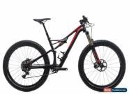 2016 Specialized Stumpjumper FSR Expert 6Fattie Mountain Bike Medium Carbon SRAM for Sale
