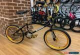Classic Kuwahara Laser Lite Custom Old School BMX Bike Black/Gold for Sale