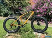 Mammoth FAT TYRE Mountain BIKE GOLD With Gears Adult Top Seller UK FT03-03 for Sale