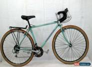 Bianchi Boardwalk Touring Bike M 56cm 700c Deore LX Dia-compe XCM Steel Cahrity! for Sale