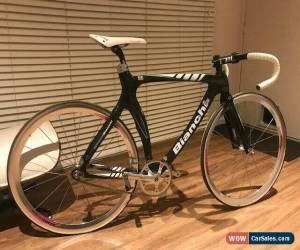 Classic Ultra Rare, Ultra Fast, Bianchi D2 Pista Carbon 54cm Track Frame, Mint Condition for Sale