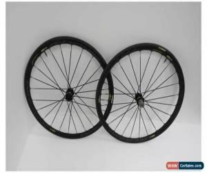 Classic Mavic Ksyrium Elite 6-Bolt 700C Road Wts Wheelset Black (Ex-Demo/Ex-Display) for Sale