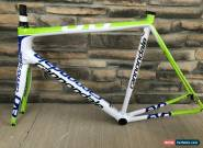 2013 Cannondale SuperSix Evo Hi-Mod 58cm XL Carbon Road Bike Frameset Green for Sale