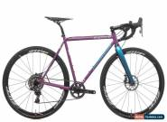 Mosaic XSS-1 SingleBarrel Custom Cyclocross Bike 54cm Medium Steel SRAM Force 1 for Sale