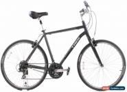 USED Trek Verve 1 XL Aluminum Hybrid Bike 3x7 Speed Grip Shift Black for Sale