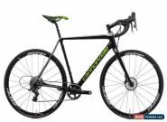 2019 Cannondale SuperX Force 1 Cyclocross Bike 56cm Carbon SRAM Disc Zipp for Sale