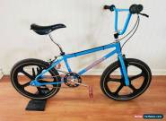 Vintage 1987 Mongoose Expert Old School BMX -  Show Condition for Sale
