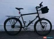 Thorn Raven Tour Rohloff Gloss Black Touring Bike 969 Tubing 531 fork SON 28 hub for Sale