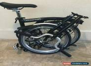 Brompton Bike M6L Black  New Shipping To Worldwide Available for Sale