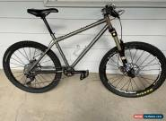 DEAN Titanium Mountain Bike Ti 1x10 Shimano XT, Fox 36 Talas Crossmax Chris King for Sale